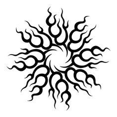 Hawaiian Tribal dragon Tattoos | Tribal Tattoos Designs New Colection