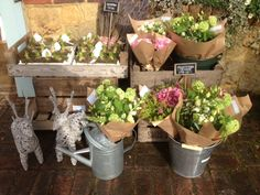 Rural Vintage Flowers