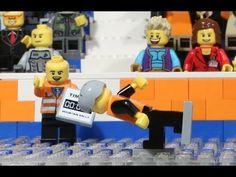 ▶ Sven Kramer in Lego: Goud 5000m OS2014 Sochi - YouTube  Hoe gaaf is dit gemaakt ! Super gedaan!