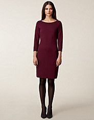 Tailored Jersey Dress - Filippa K - Plum - Dresses - Clothing - NELLY.COM UK