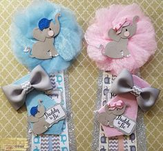 Elephant Baby Shower Corsage/ Baby Shower Pin/ Elephant Theme/ Elephant Mommy To Be Pin/ Elephant Daddy To Be Pin/ Girl/Boy/ Baby Shower Distintivos Baby Shower, Baby Shower Gender Reveal, Baby Shower Cakes, Baby Shower Themes, Baby Shower Gifts, Shower Ideas, Baby Girl Elephant, Elephant Theme, Welcome Baby Boys