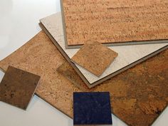 cork flooring | Cork flooring can give you as much variety in colors and patterns as ...