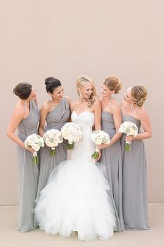 18 Incredible Bridesmaid Wedding Bouquets ❤ See more: http://www.weddingforward.com/bridesmaid-wedding-bouquets/ #weddings #bouquets