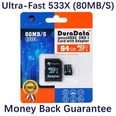 Top 5 Best 64GB Micro SD Memory Cards for GoPro in 2016 Reviews