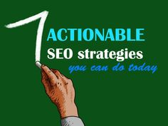 actionable seo search engine optimization strategies tips techniques