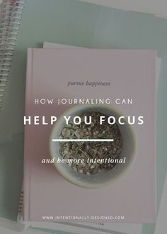 Personally, I have always been a writer at heart, but this new approach to using a journal made such a huge impact on living more intentionally and I wanted to share it with you.