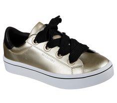 bb7a53b4cda0 Skechers Women s Hi-Lites Metallics Sneaker Gold (us women s 9 (wms m  (medium))