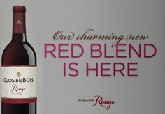 Wrapped in subtle notes of plum, chocolate & blackberry, our new red blend #Rouge is here. #wine