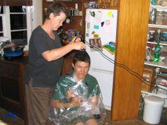 Rae cut my hair - Whiteman's Valley
