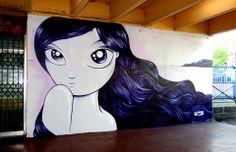 """Artist :Jordane Jone """"Street Arts Festival """"Aulnay-sous-Bois"""""""