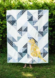 Dreaming of Flight Quilt + Scrappy Bits Appliqué Giveaway | Sew Mama Sew |