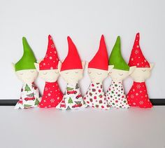 Items similar to Christmas Elf Doll, Elf on the Shelf on Etsy Christmas Elf Doll, Small Christmas Gifts, All Things Christmas, Kids Christmas, Christmas Stockings, Crochet Ornaments, Xmas Ornaments, Christmas Decorations, Elf Toy