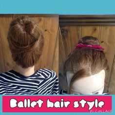 My own ballet hairstyle
