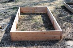 Build Your Own Raised Flower/Vegetable Bed
