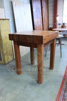 96 Best Kitchen Tables & Islands images Art furniture, Kitchen tables, Creative art