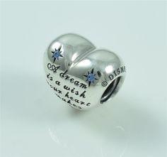 100% New AUTHENTIC Pandora Charm--Disney Cinderella Dream Heart 791593CFL #PANDORA