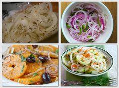 8 csodás hagymasaláta! Jól behűtve eszméletlen finom :) Food Inspiration, Onion, Cabbage, Spaghetti, Food And Drink, Vegetables, Ethnic Recipes, Veggies, Cabbages