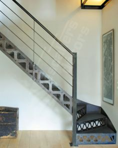 1000 images about escalier acier on pinterest. Black Bedroom Furniture Sets. Home Design Ideas