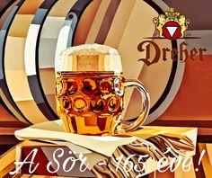 Dreher: A Sör - 165 éve! Canning, Mugs, Detail, Tumblers, Mug, Home Canning, Conservation, Cups