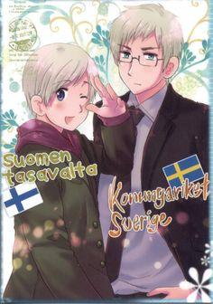 Hetalia Axis Power - Finland & Sweden