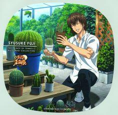 Prince of Tennis: Fuji with his cactus