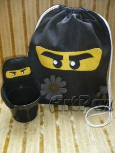 Lembrancinhas Ninjago - ArtPaz by Tania Paz