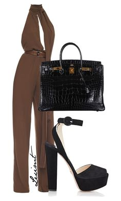 Untitled #746 by leximt on Polyvore featuring polyvore, fashion, style, Michael Kors, Prada, Hermès and clothing