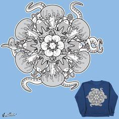 Sea Mandala on Threadless