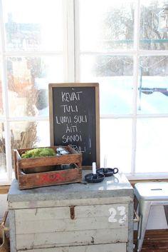 Pikkutalon elämää: kasvihuone
