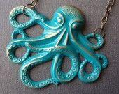 He's an octopus!