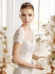 Vestido de novia, modelo Paislee de Atelier Diagonal 2014  www.sanpatrickgranada.es
