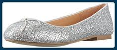 ALDO ADREANNA, Damen Geschlossene Ballerinas, Silber (Silver/81), 38 EU - Ballerinas für frauen (*Partner-Link)