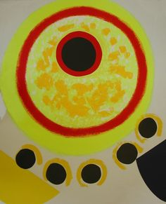 Sir Terry Frost - Five Black Moons (Kemp Patrick Heron, Black Moon, Silk Screen Printing, Prints For Sale, Yorkie, Frost, It Works, Original Art, Abstract