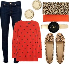 """""""Leopard Love"""" by crbartels ❤ liked on Polyvore"""