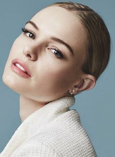 My kind of make-up. Clean, fresh, natural, classic. Perfect day or night. Kate Bosworth by David Roemer for Marie Claire UK March 2015