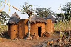 Benin is a small country in West Africa. It covers sq km and has a population of about 9 million people estimate). Benin is bo. French West Africa, Vernacular Architecture, People Of Interest, Out Of Africa, African Countries, Jolie Photo, Cool Landscapes, Tanzania, Ghana