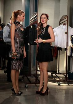 Serena & Blair Gossip Girl