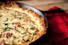 Gojee - Hash Brown Quiche by Thyme of Taste