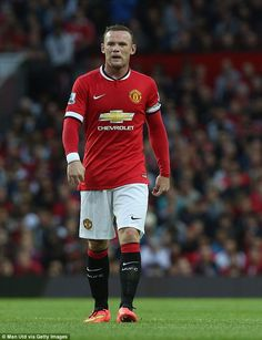 Wayne Rooney. Manchester United captain.