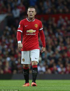Wayne Rooney. Manchester United captain.