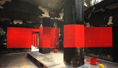 side view.  forced-perspective-art-bending-space-georges-rousse-16