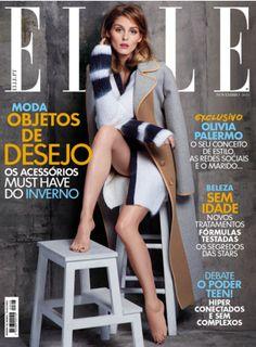Elle Portugal November 2015 Covers Olivia Palermo http://www.magazinecafestore.com/elle-portugal-magazine.html