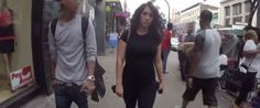 Watch This Woman Receive 100 Catcalls While Walking Around For A Day