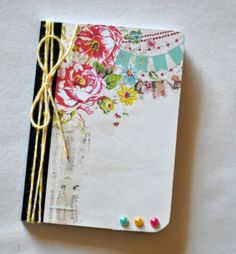 Altered Notebook - Journal - Memo pad - Address Bood - Altered Journal