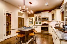 Rustic Modern #Kitchen in the Park House Alamosa home