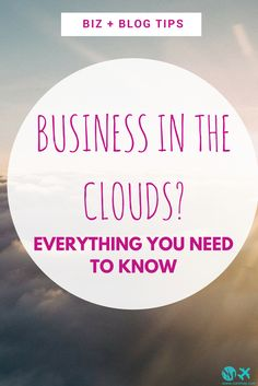 Business in the clouds