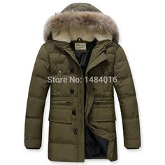 Find More Down & Parkas Information about Top Quality Winter Parka Man Down Jackets Fur Hooded Warm Clothing Casual Men's Coats 90% Duck down Big Size Free Shipping,High Quality jacket set,China jackets with faux fur Suppliers, Cheap jacket spring from We Share PetPal on Aliexpress.com