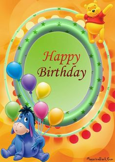 Happy Birthday wishes cards and greeting cards Disney Birthday Wishes, Late Happy Birthday Wishes, Birthday Greetings For Facebook, Happy Birthday Kids, Happy Birthday Pictures, Birthday Blessings, Happy Birthday Greeting Card, Birthday Wishes Quotes, Happy Birthday Messages