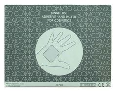 "Glamcor Hygienic Hand PaletteSterile, disposable, transparent hand palettes.     Using the back of your hand to mix and apply makeup onto your customer is a ""tolerated"" custom for MUAs. Now you no longer need to make excuses, feel uncomfortable, or put your customers at hygiene risk. Apply a Hygienic Hand Palette with each makeup application and keep the hygiene of your customer and you separate.   :)"