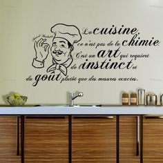 1000 images about citations on pinterest paulo coelho - Stickers muraux pour cuisine ...